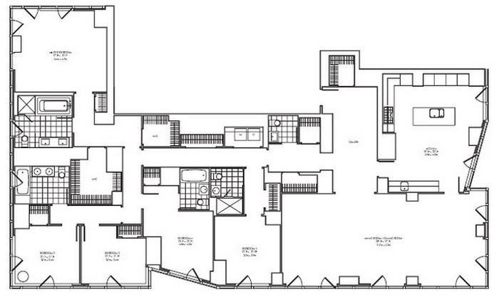 5 Bedroom Apartment Nyc Style Plans Casa 74  255 East 74Th Street New York Ny 10021  The Diaman Group