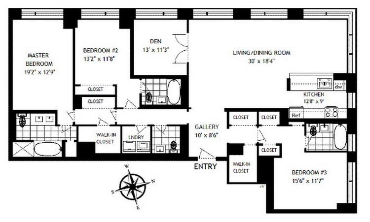 Four Bedroom Townhomes best 3 4 bedroom apartments gallery - house design interior