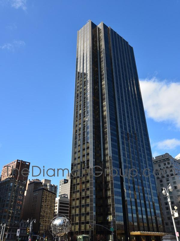 1 Central Park West Trump International Hotel Tower Condominium Manhattan New York NY 10023