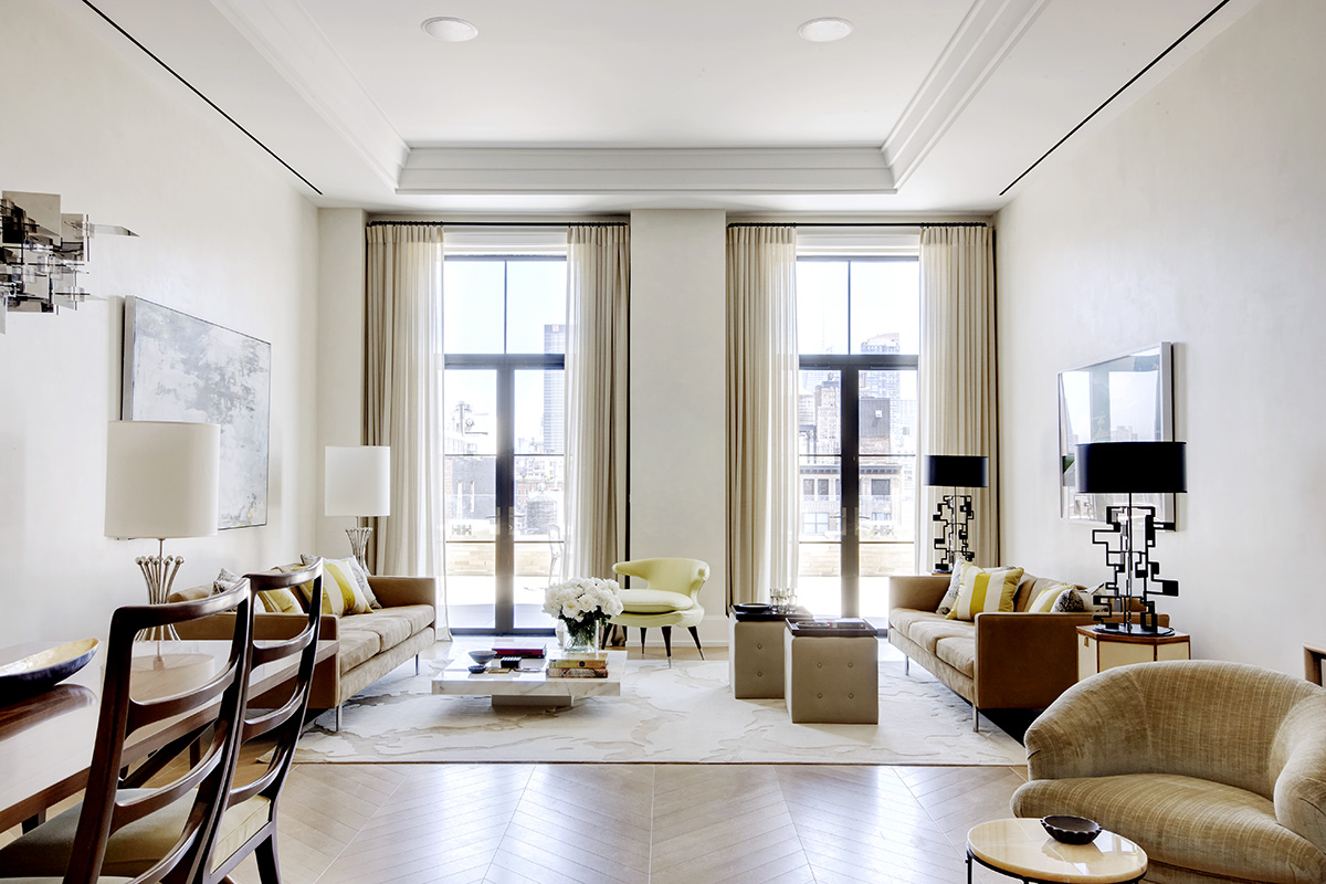 Walker Tower  West Th Street New York NY  The - College apartment interior design