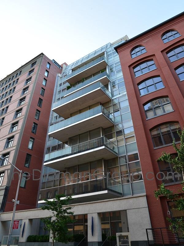 88 Laight Street Glass Condominium Tribeca Manhattan New York NY 10013