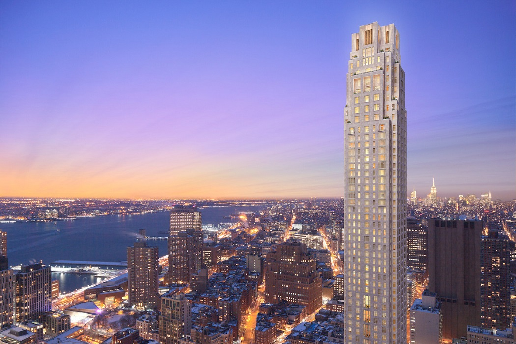 Four Seasons Private Residences New York Downtown - 30 Park Place Tribeca Manhattan New York NY 10007