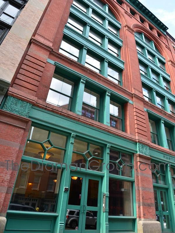 The Pastene Building 152 Franklin Street Tribeca Manhattan New York NY 10013