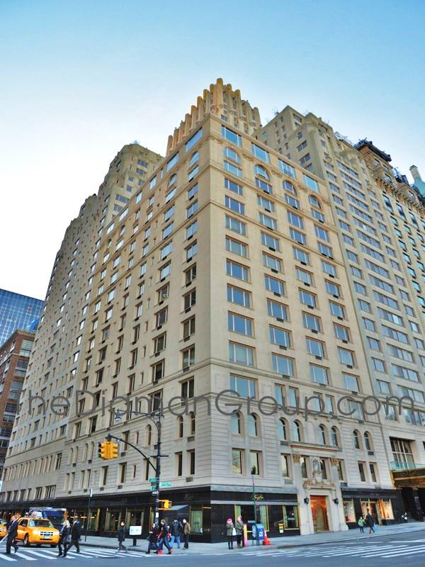Trump Parc East Condominium 100 Central Park South Midtown Central Park Manhattan New York NY 10019