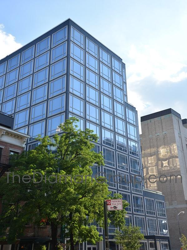 Urban Glass House Condominium 330 Spring Street Soho Manhattan New York NY 10013