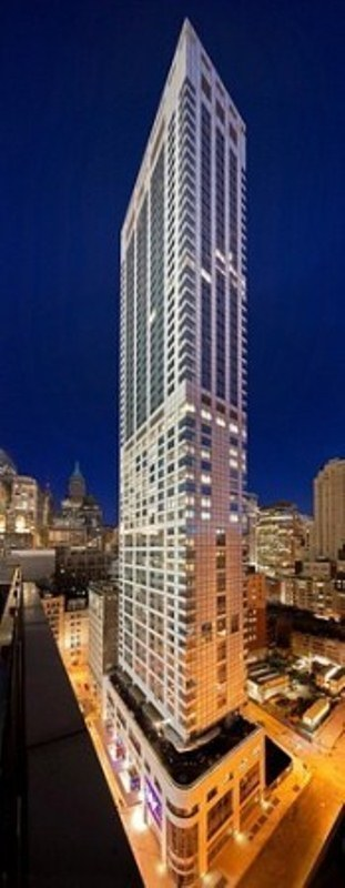 W Downtown Hotel & Residences Condominium 123 Washington Street Downtown Manhattan Financial District New York NY 10006
