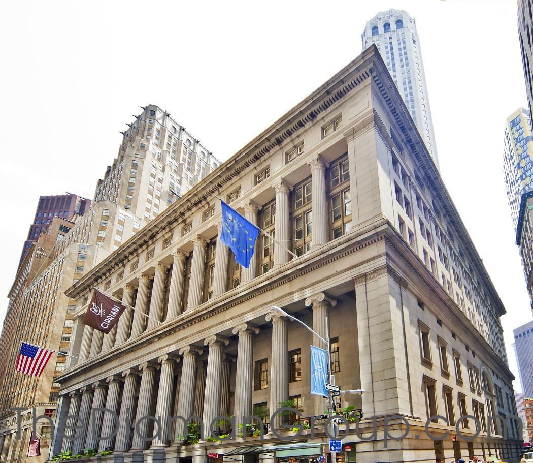 Cipriani Club Residences 55 Wall Street Manhattan Downtown Financial District New York NY 10005